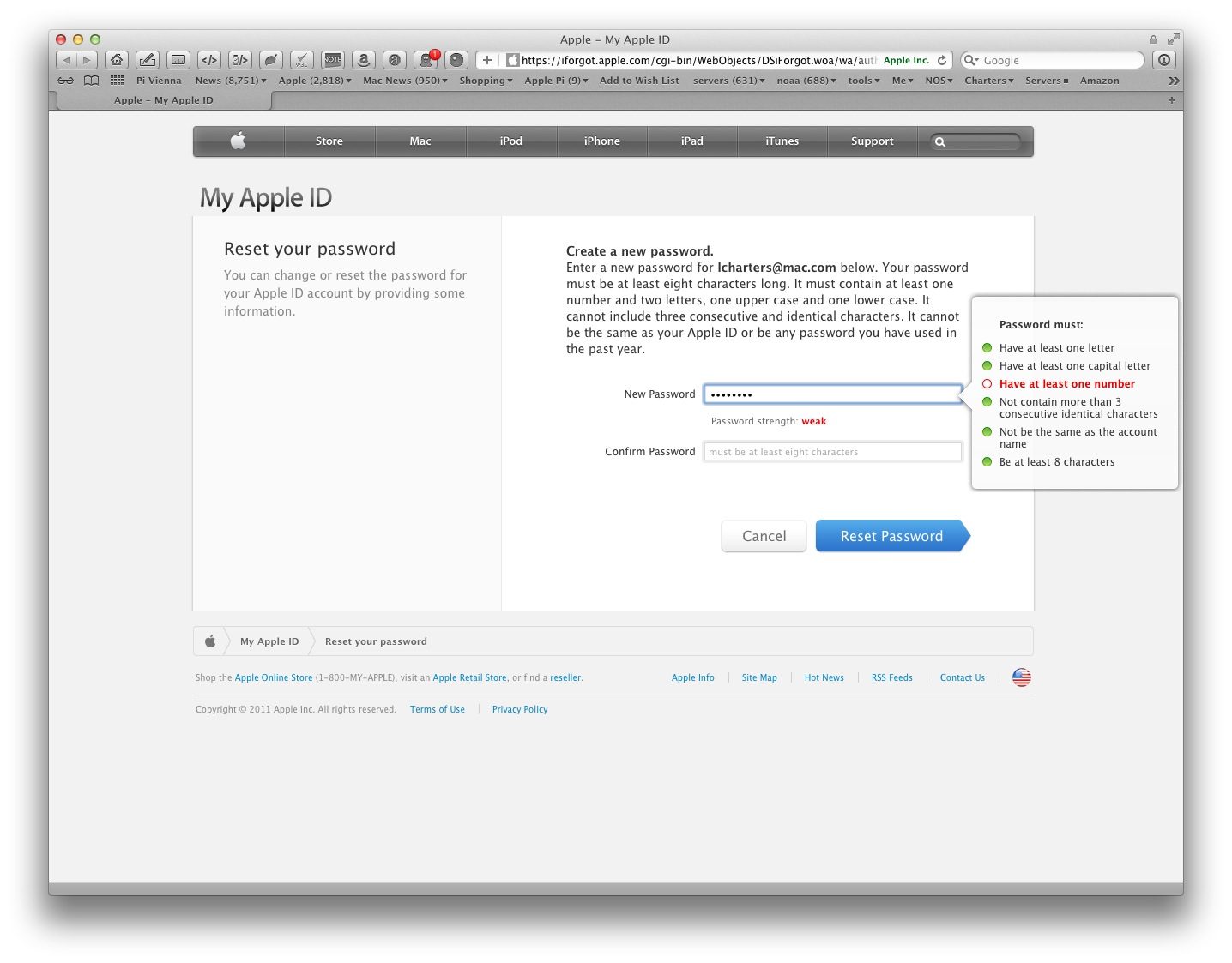 Apple critiques your Apple ID