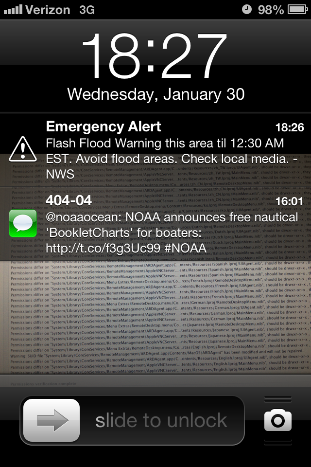 Electric Pi Journal Smart Phone Alerts And The Iphone