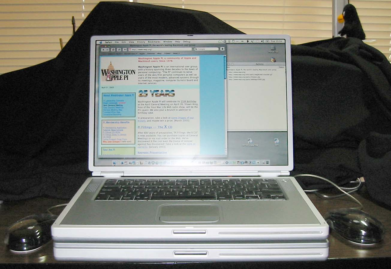dual processor powerbook