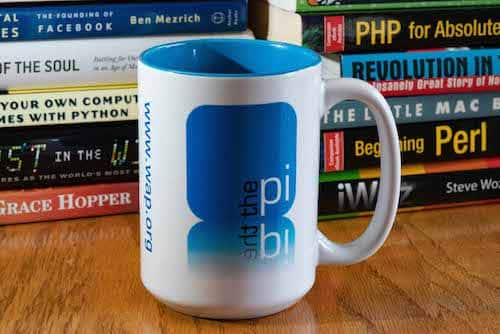 Washington Apple Pi mug, in ceramic.